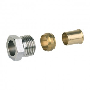"Złączka do rur miedź/stal HONEYWELL 1/2""x15mm"